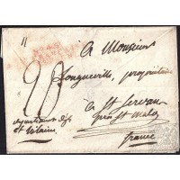 "EF. NAPOLEÓN. CIRCA 1810. A FRANCIA. MARCA ""Nº45/ARM. FRANÇAISE/EN ESPAGNE"". PROBABLE ORIGEN SALAMANCA."