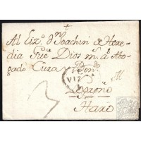 1778. ESPAÑA. SPAIN. CALAHORRA A HARO.