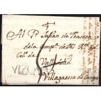 1764. ESPAÑA. SPAIN. LOGROÑO A VILLAGARCIA DE CAMPOS.