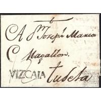 CIRCA 1777. ESPAÑA. SPAIN. DIRIGIDA A TUDELA.