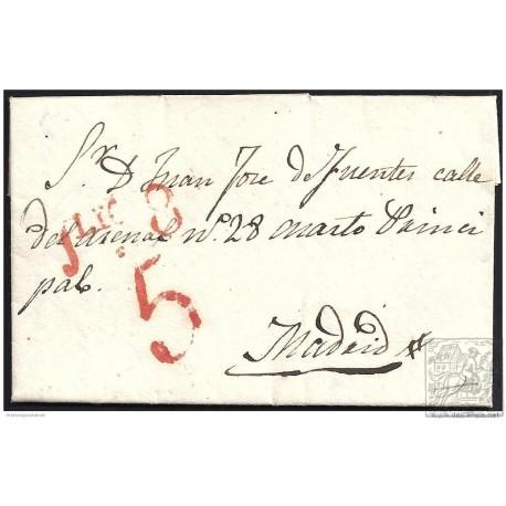 1836. ESPAÑA. SPAIN. TORREJON A MADRID.