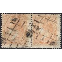 1867. ESPAÑA. SPAIN. 12 CUARTOS. ED. 89A (2).