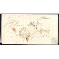 1851. ESPAÑA. SPAIN. MANILA A CADIZ.