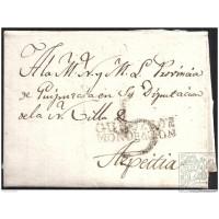 1817. ESPAÑA. SPAIN. ELGOIBAR A AZPEITIA.