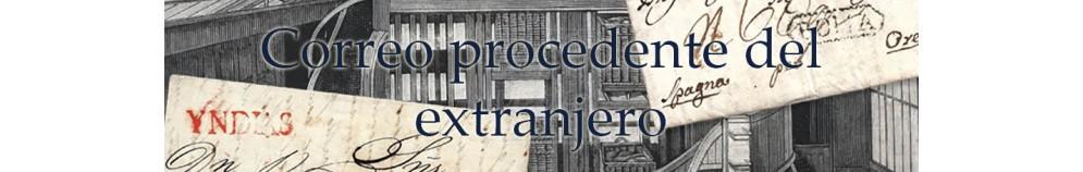 CORREO PROCEDENTE DEL EXTRANJERO (INCOMING MAIL)